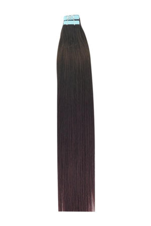 14 Inch Tape in Remy Human Hair Extensions Ombre #T4/99J