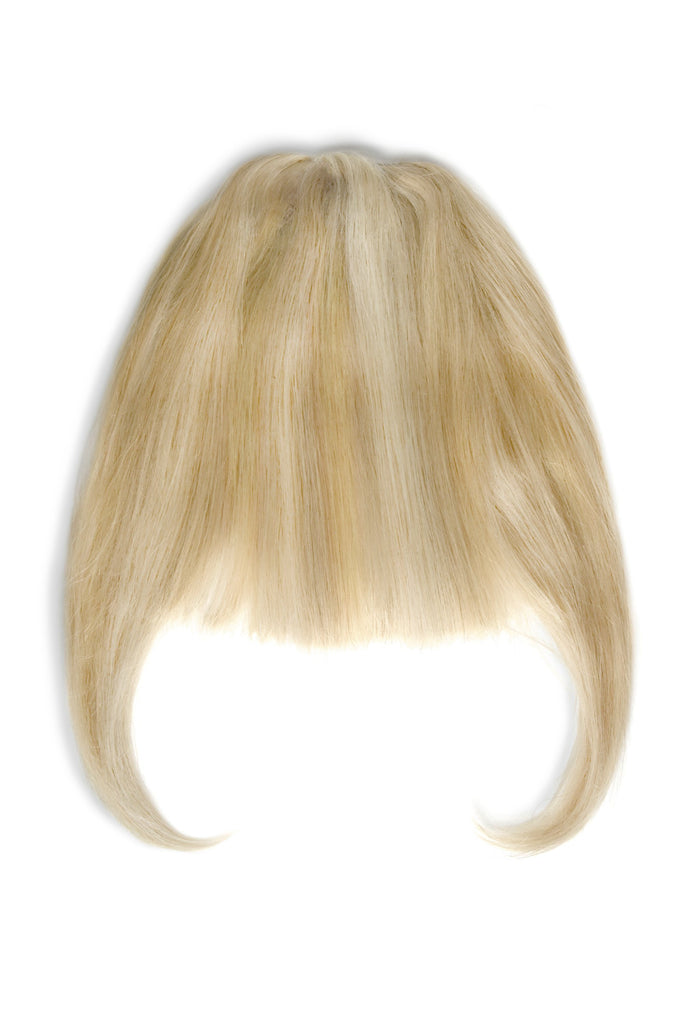 clip in human hair fringes by Cliphair™ UK - Golden Blonde Highlights