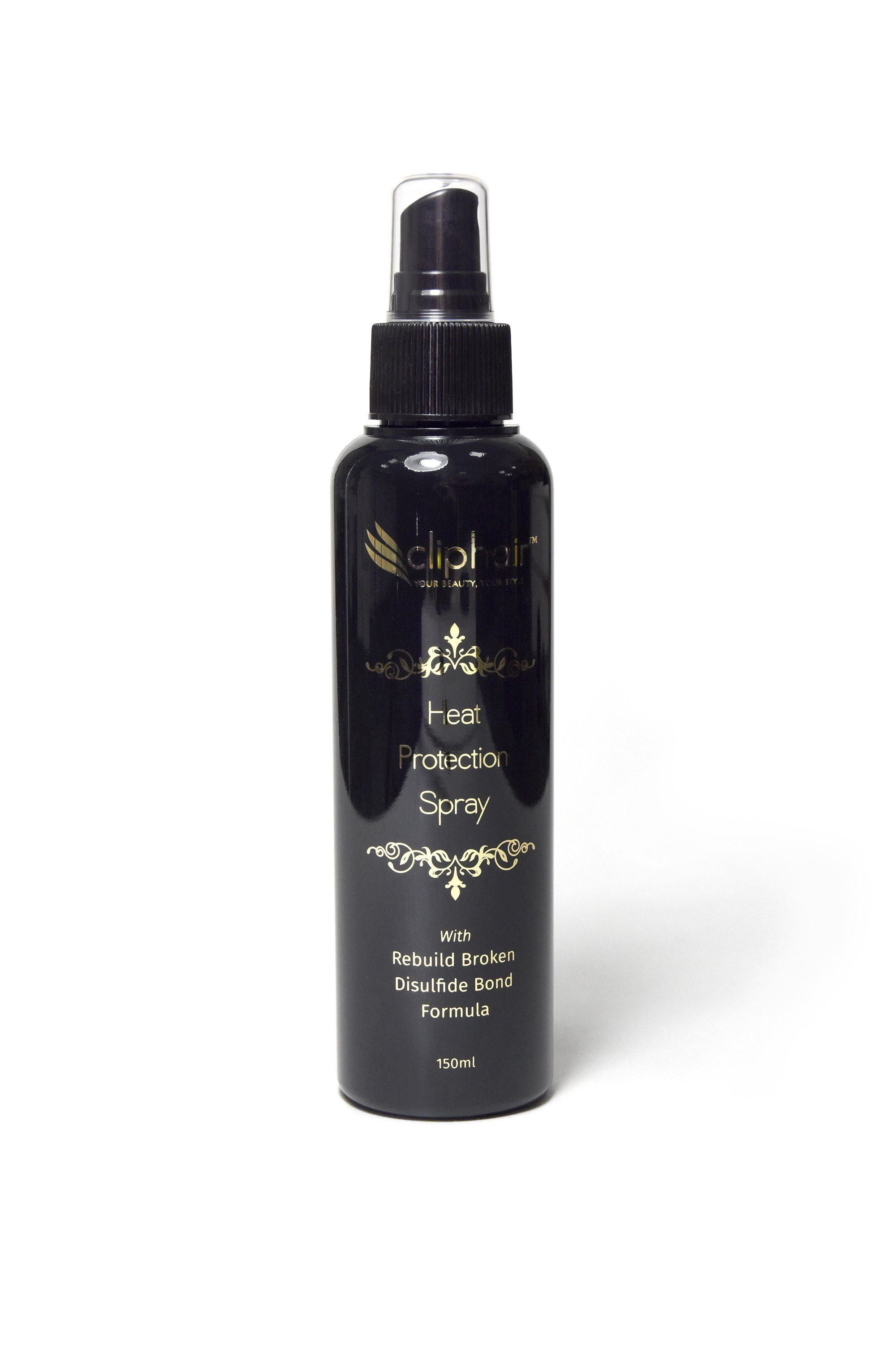 cliphair heat protection hairspray for hair extensions