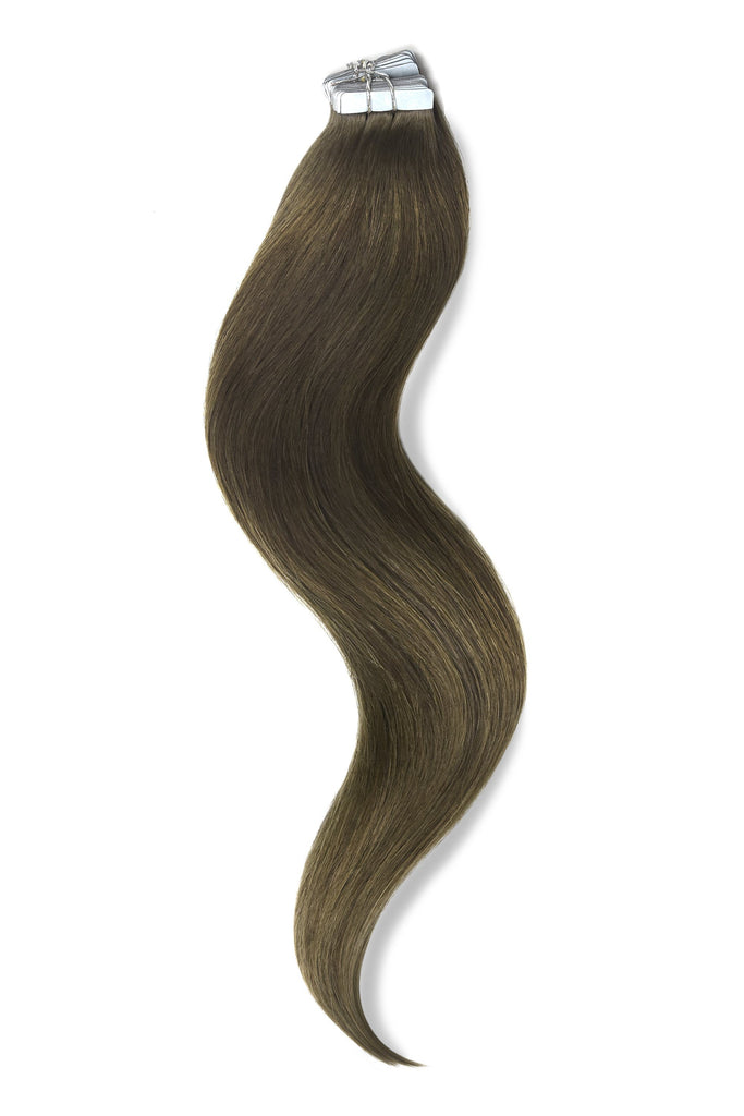 Tape in Remy Human Hair Extensions - #9 Tape in Hair Extensions cliphair