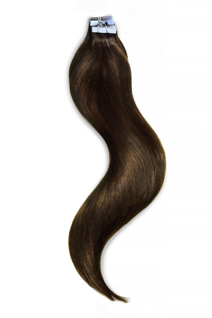 tape-in-hair-extensions medium brown