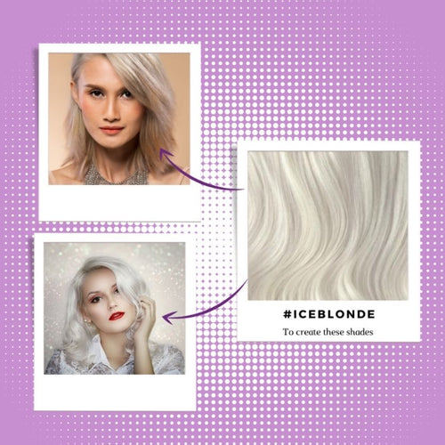 best colours to dye with shade ice blonde