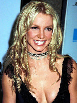britney spears crimped