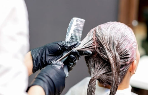 Hair Changing Colour