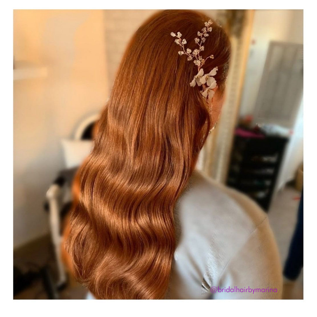 Light Auburn Ginger Hair Extensions (#30)