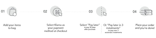 hair extensions for klarna - how it works?