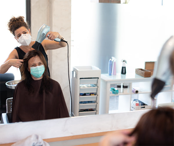 Can Hairdressers Blow Dry Hair?