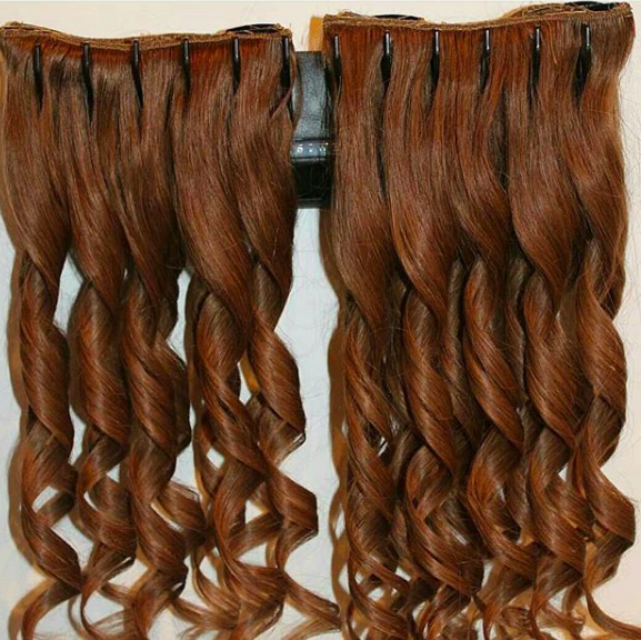 Hanging Hair Extensions