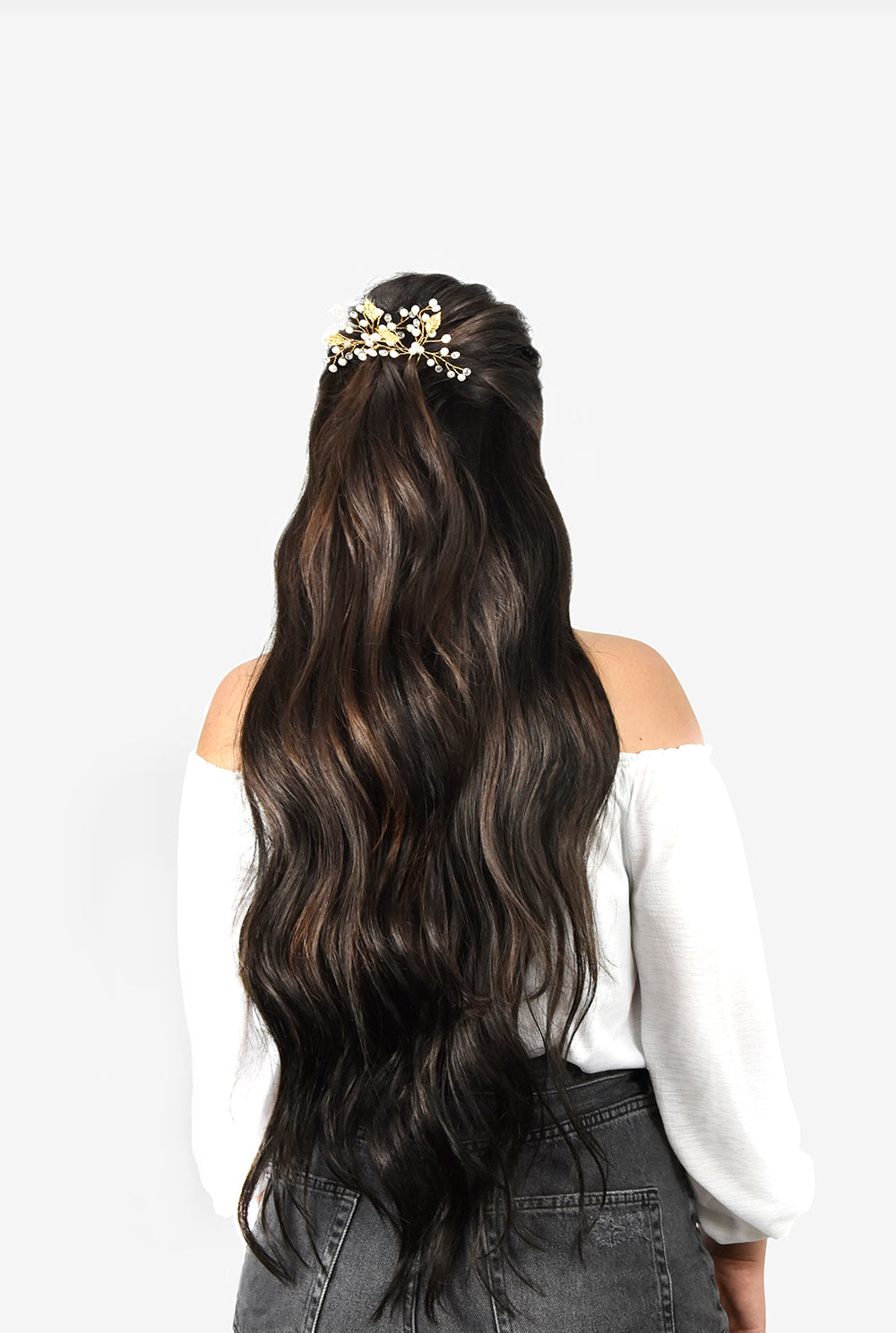 curled extra thick Hair Extensions