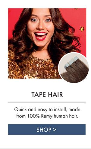 tape in hair extensions quick and easy to install made from 100% remy human hair