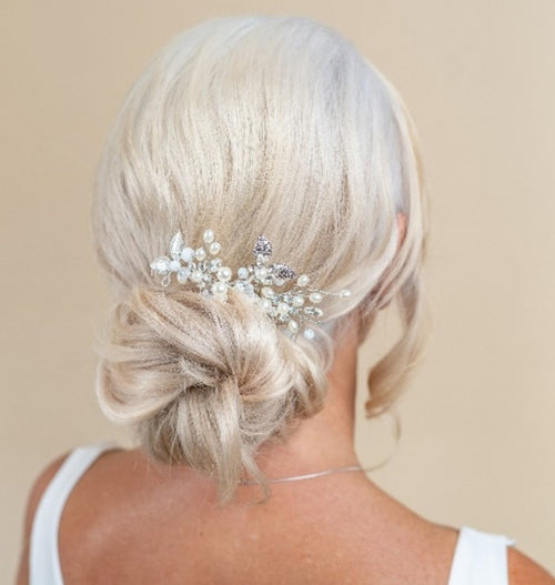 The Low Bun Bridal Hairstyle