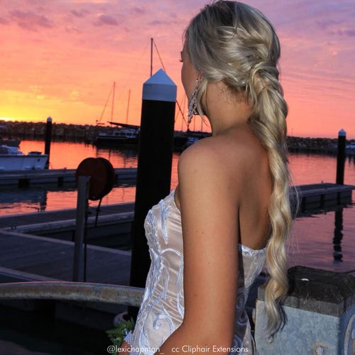 How to Create a Big Volume Ponytail with Clip in Hair Extensions