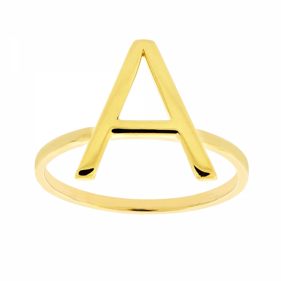 Anel  Inicial Ouro 18k