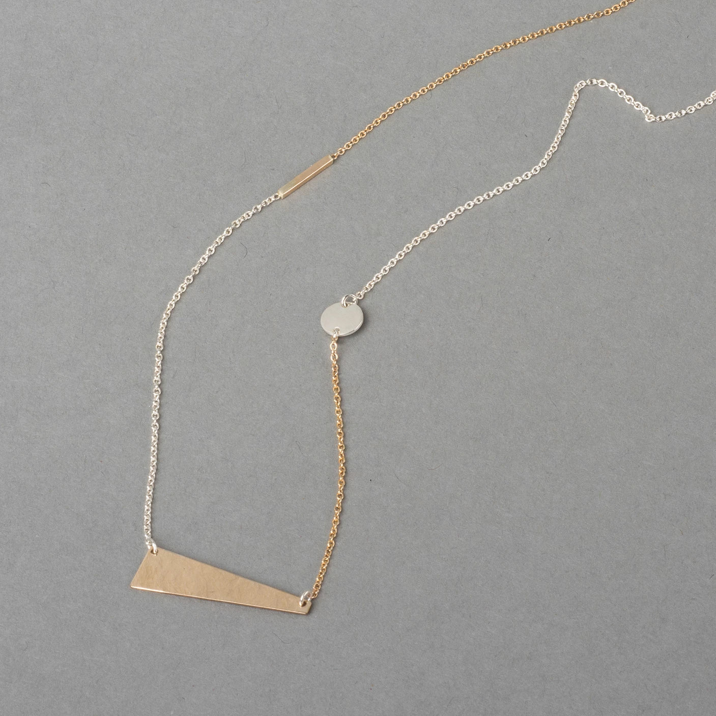 ZILKER TWO-TONE NECKLACE