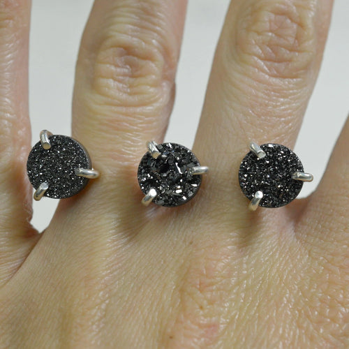 THREE FINGER DRUZY RING