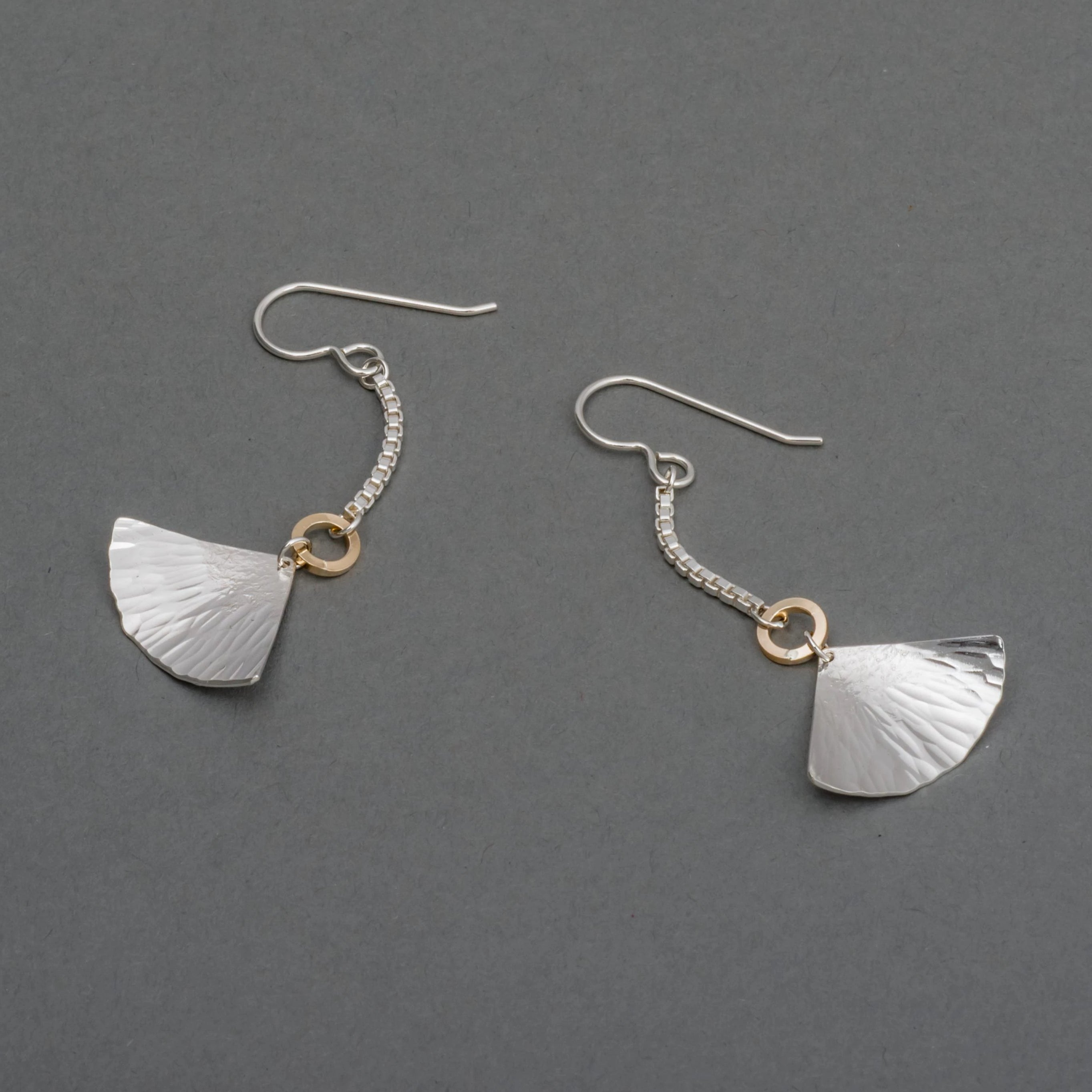LOTUS FAN DROP EARRING
