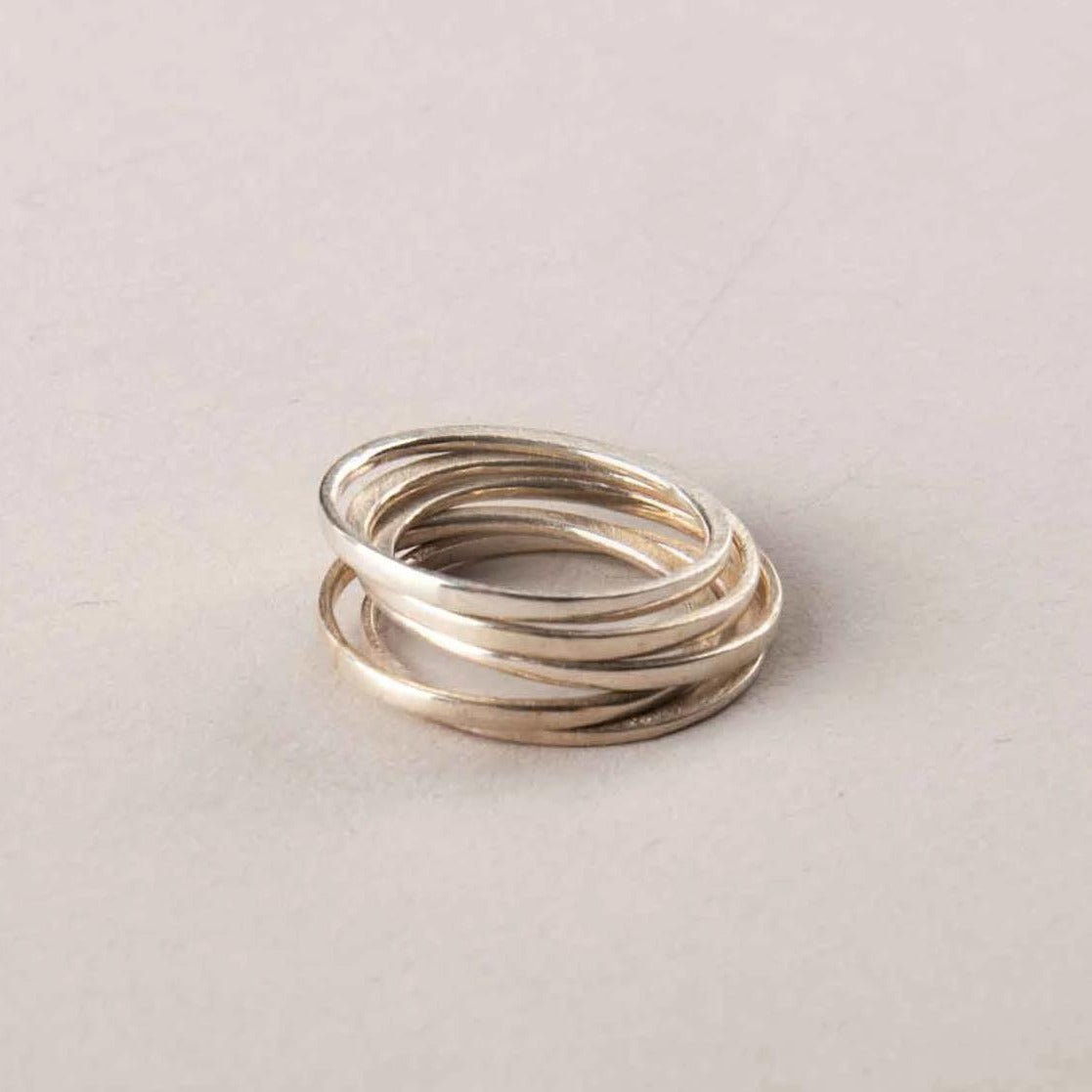 PERPENDICULAR FORGED STACK BAND