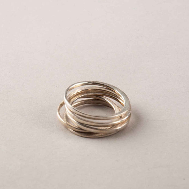 PERPENDICULAR FORGED STACK BAND 1