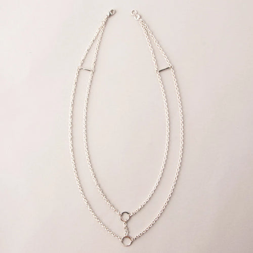 VOID CHAIN COLLAR NECKLACE