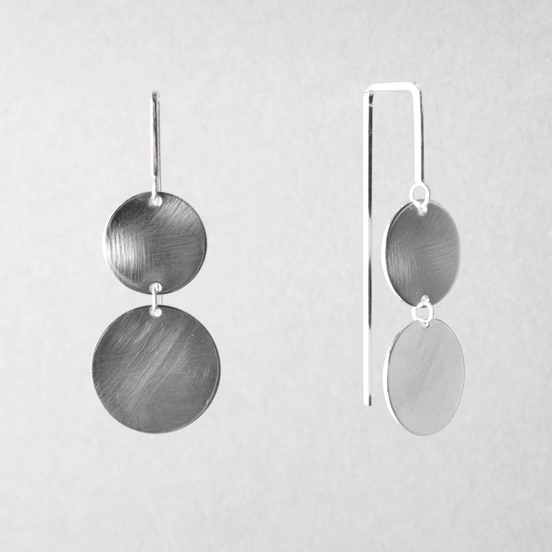 DOUBLE PENDULUM EARRING