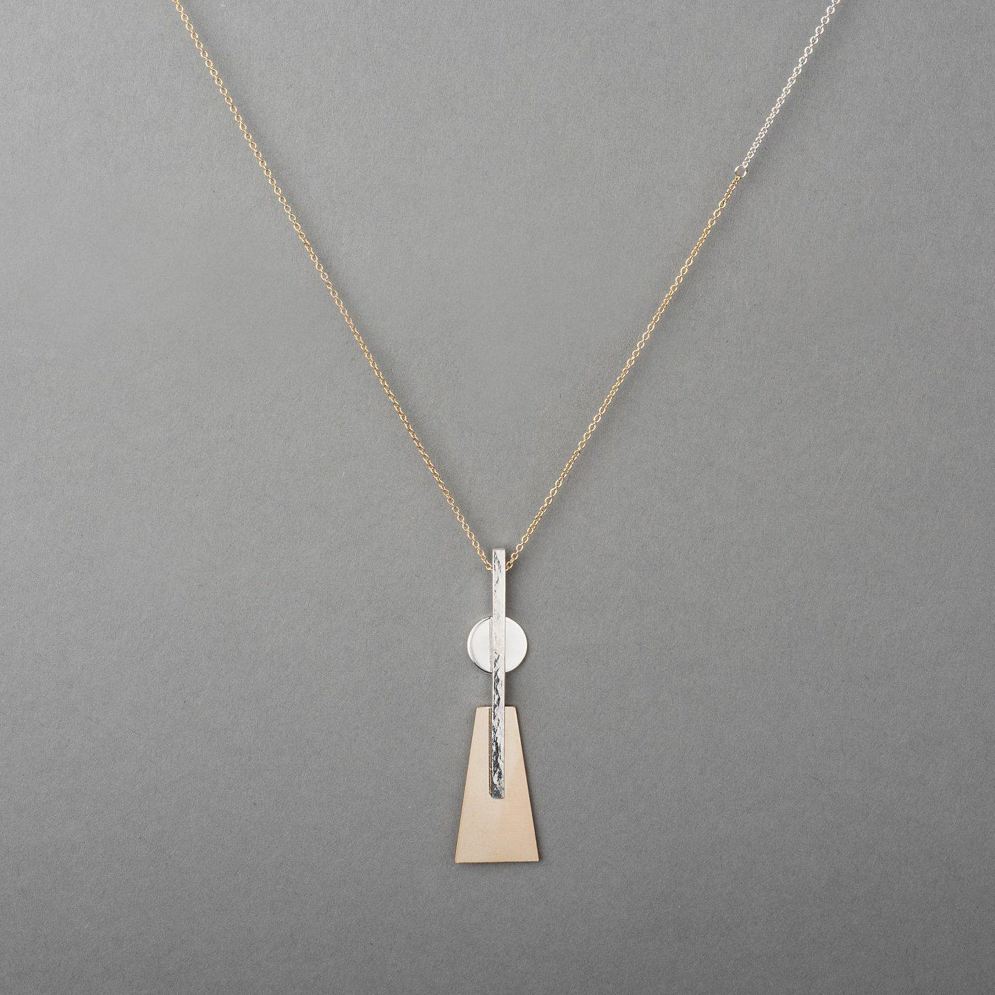 MOONTOWER TWO-TONE NECKLACE