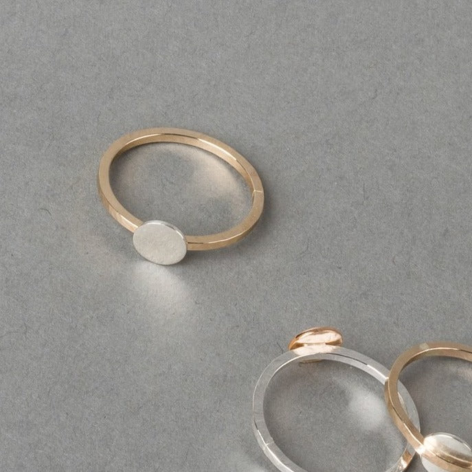 MOONTOWER TWO-TONE RING