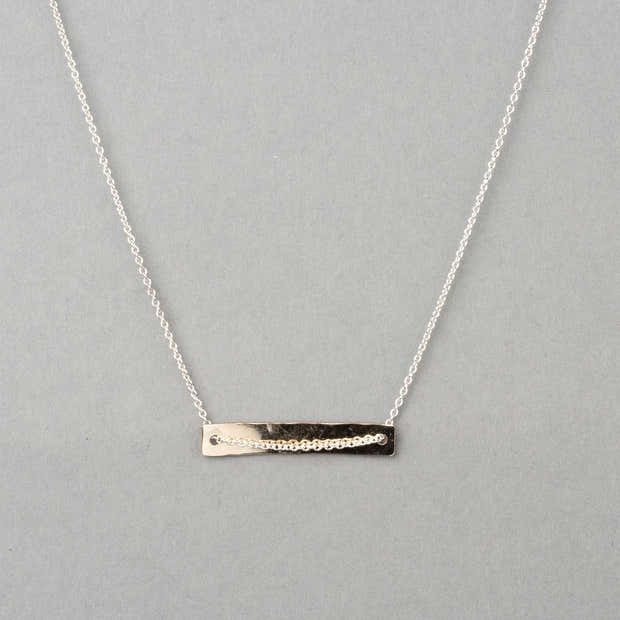 GREENBELT TWO-TONE NECKLACE 1
