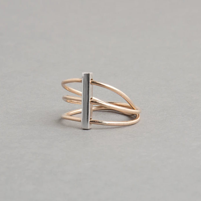SATELLITE STACKED RING