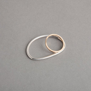 NEPTUNE TWO FINGER RING