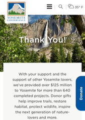 National Parks donations from Appalachian Bittersweet