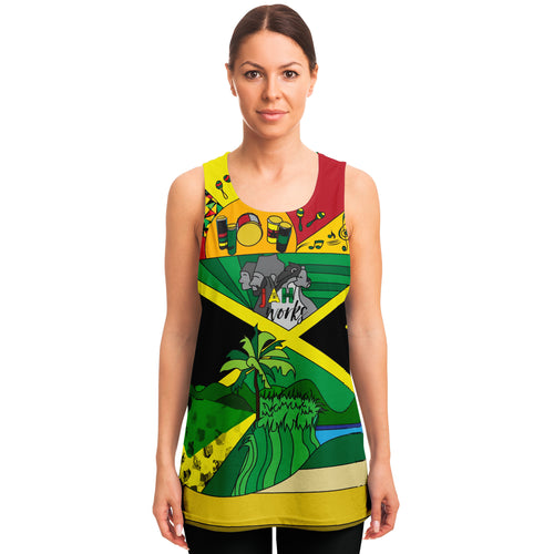 Jah Works Give Back Unisex Colorful Tank Top
