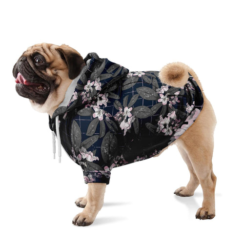 Mountain Laurel Dog Adventure Hoodie Flora Zip Pet Performance Sweater Hiking Pets