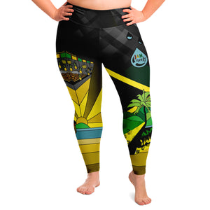 Jah Works Give Back Leggings Plus Size