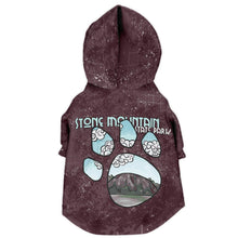 Stone Mountain Dog Zip Hoodie Pet Performance Adventure Sweater Hiking Pets North Carolina State Park National Park Gifts