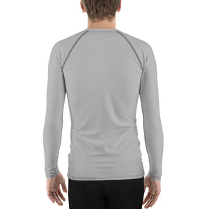 Trees Logo Grey Unisex Rash Guard - Hike Swim Climb Sun Shirt