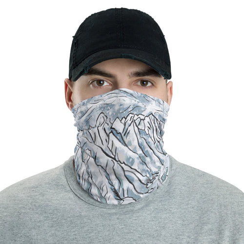 Grand Teton National Park Neck Gaiter Headband Face Shield
