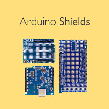 Shields Compatible with Arduino