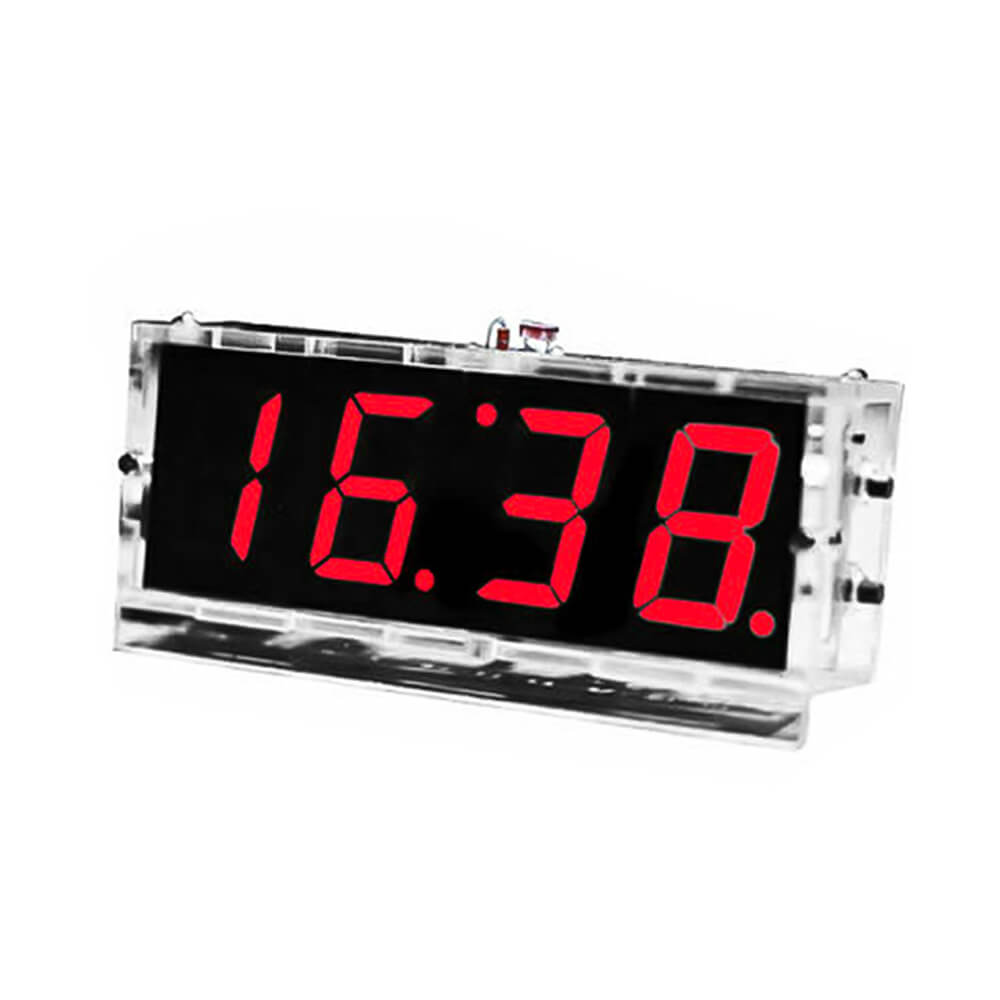 LED Electronic Microcontroller Digital Clock Time