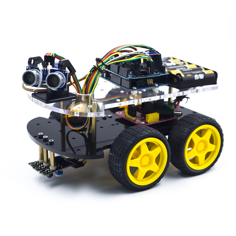Multi-Functional 4WD Robot Car Chassis Kit