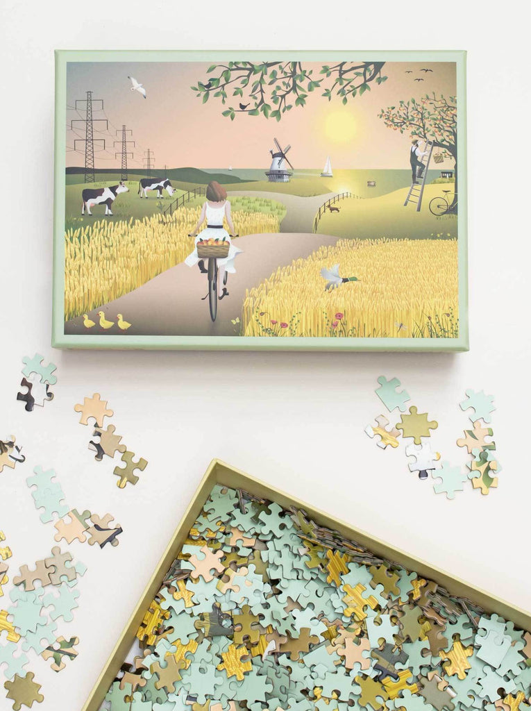 A FINE DAY - 1000 PIECES PUZZLE