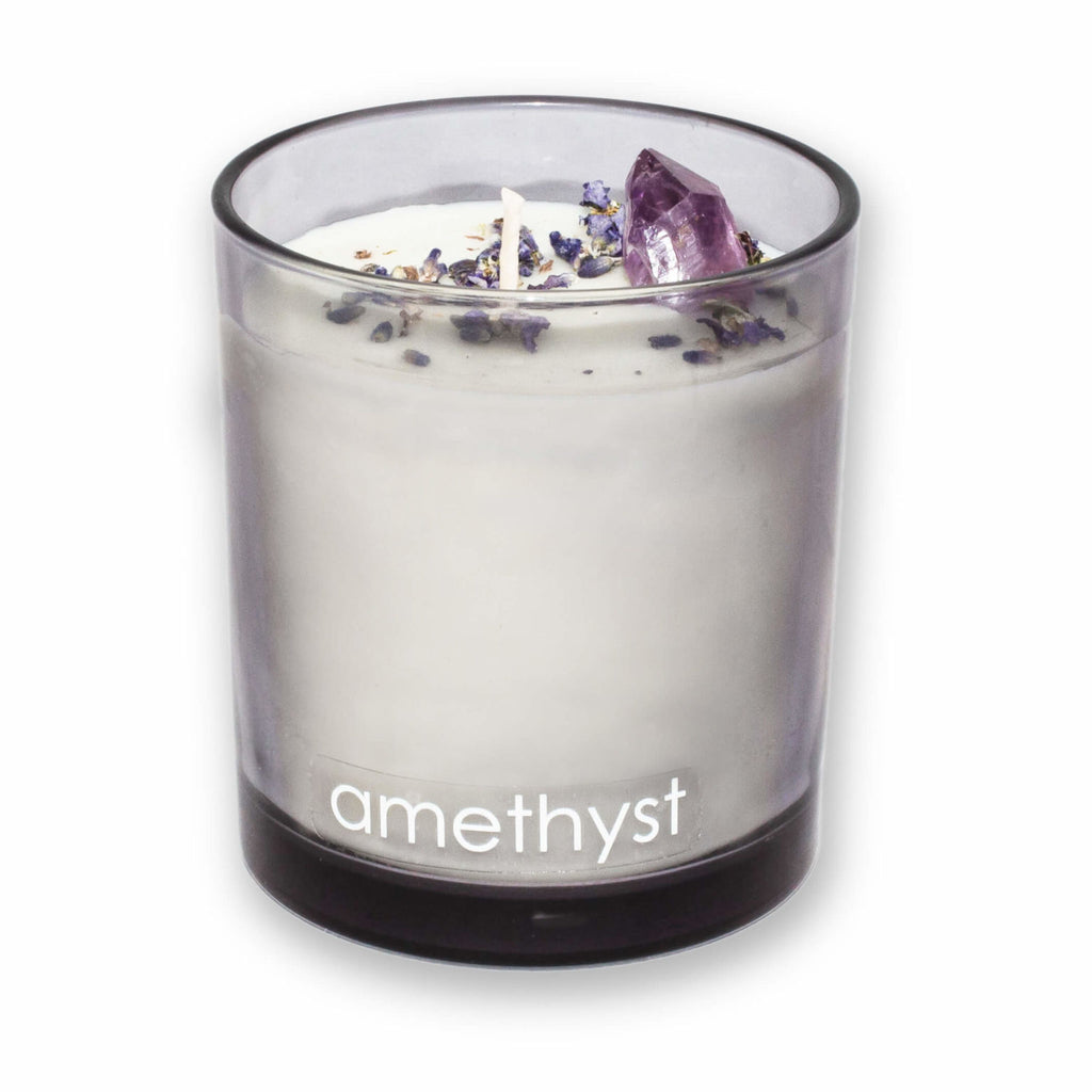 """AMETHYST"" SCENTED CANDLE"