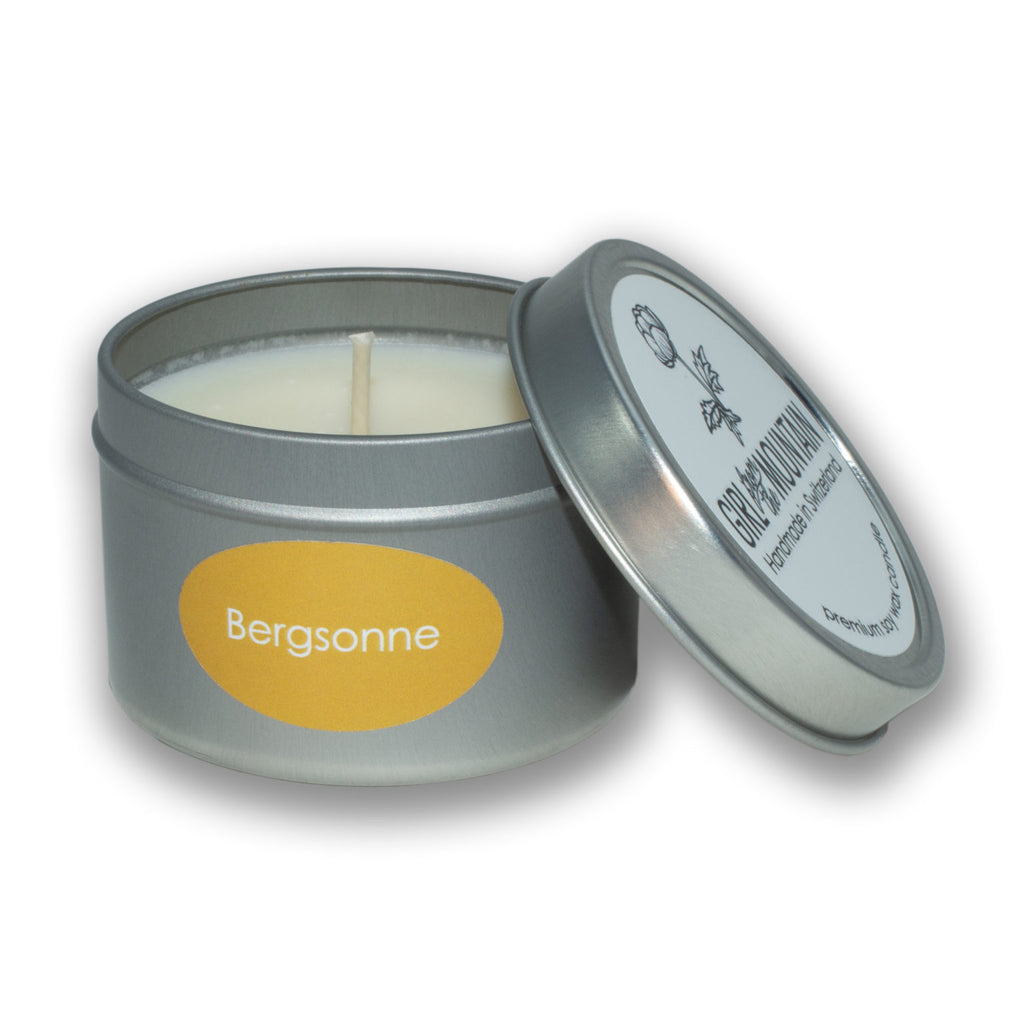 """BERGSONNE"" TRAVEL CANDLE"