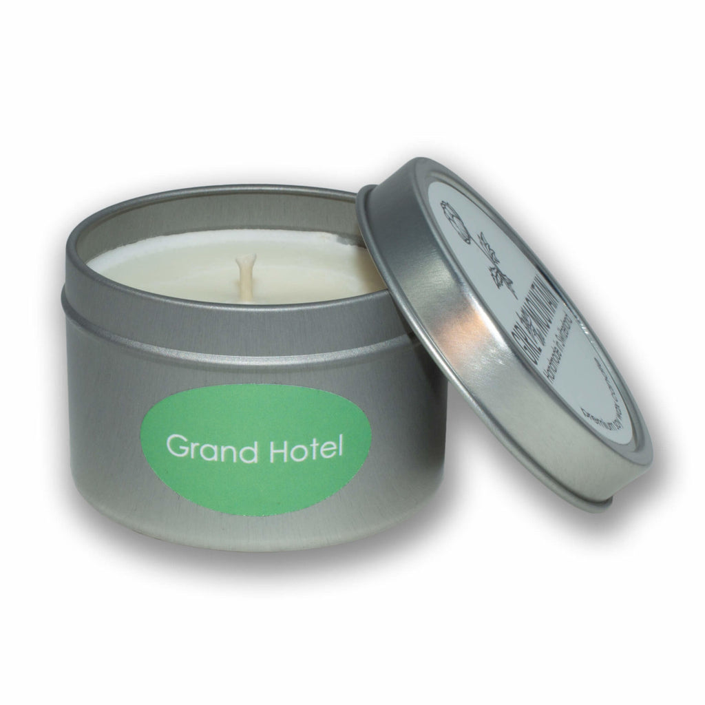 """GRAND HOTEL"" TRAVEL CANDLE"