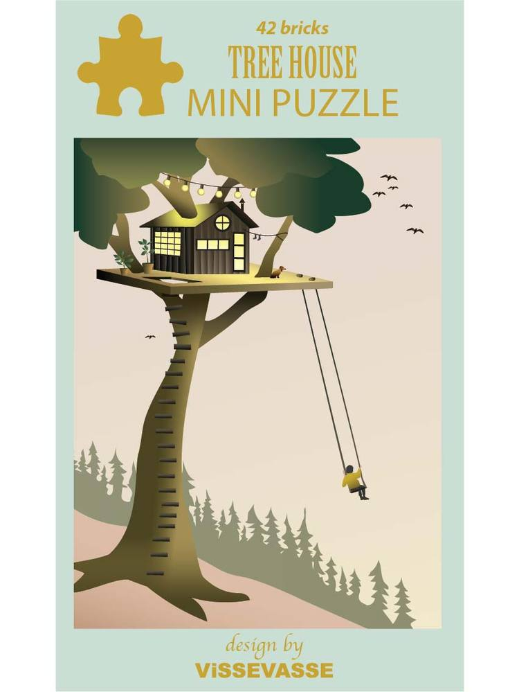TREE HOUSE - mini puzzle