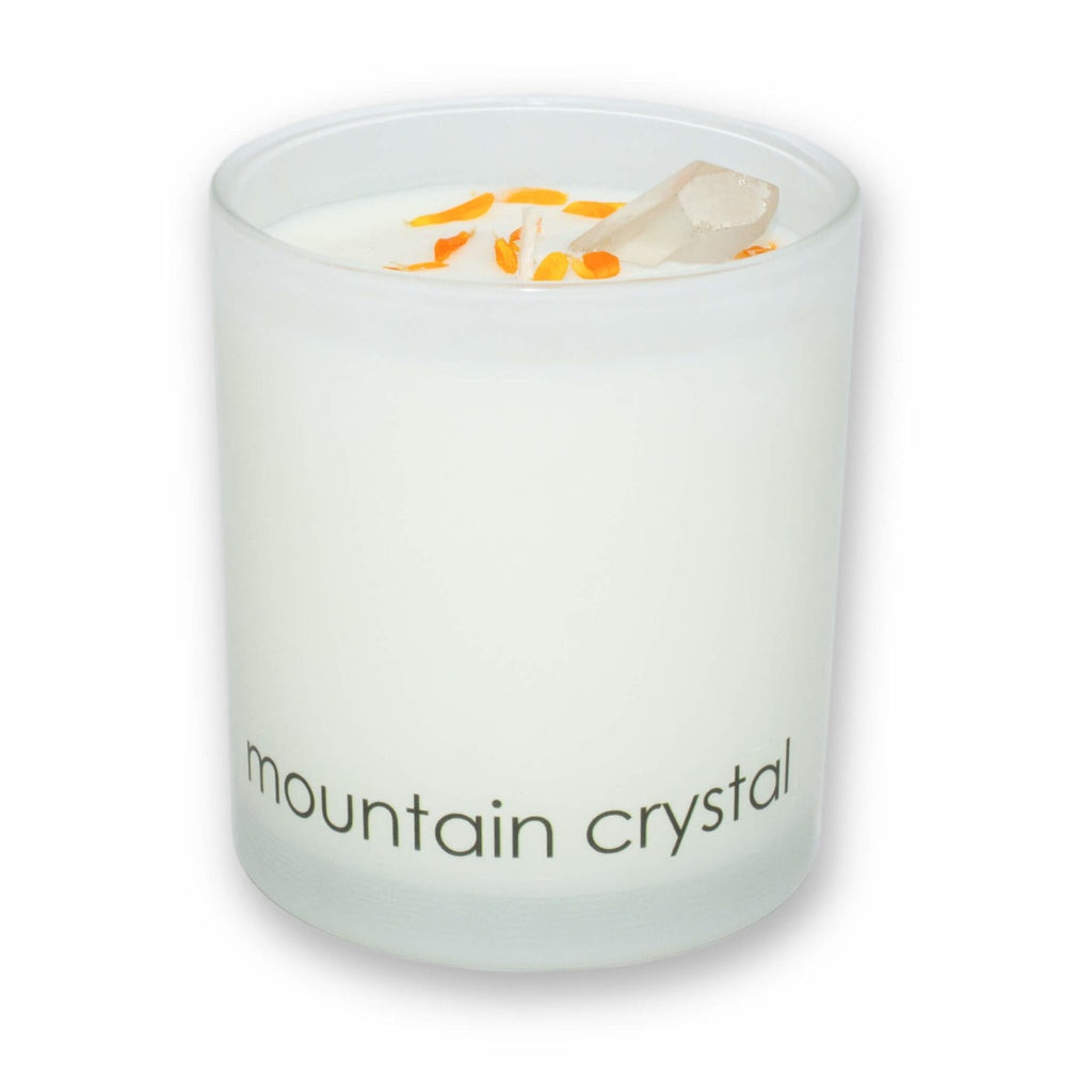 """MOUNTAIN CRYSTAL"" SCENTED CANDLE"