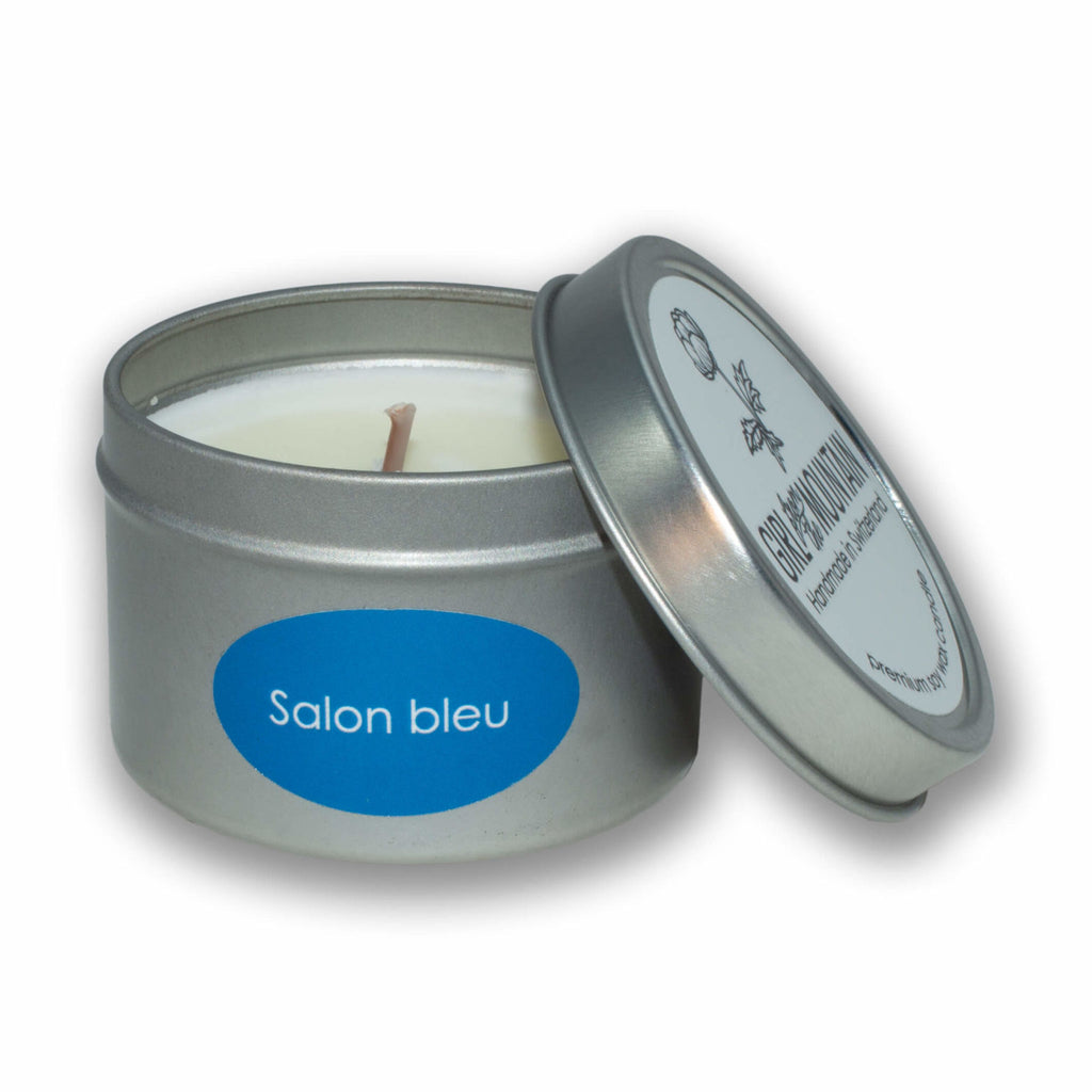 """SALON BLEU"" TRAVEL CANDLE"