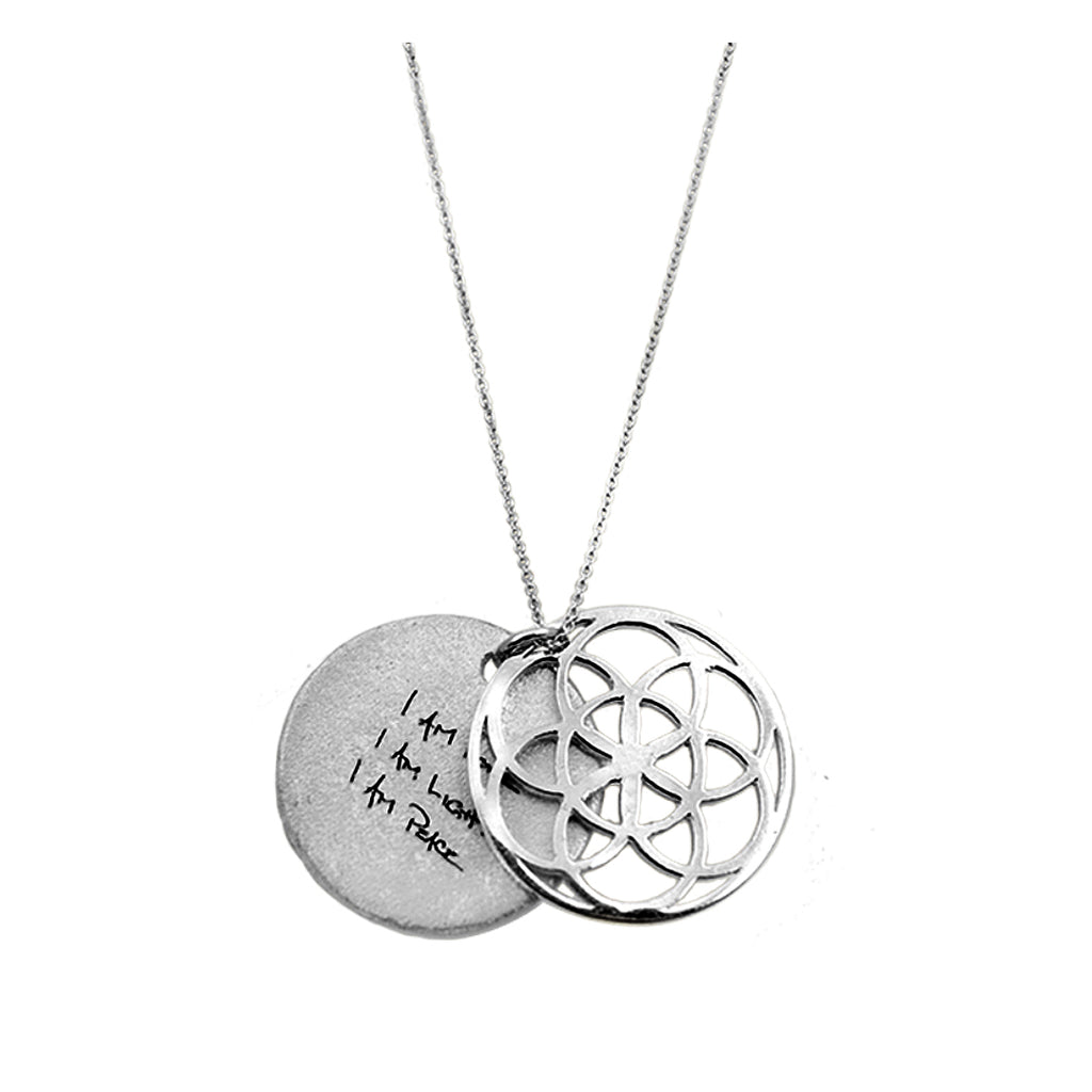SEED OF LIFE NECKLACE SILVER