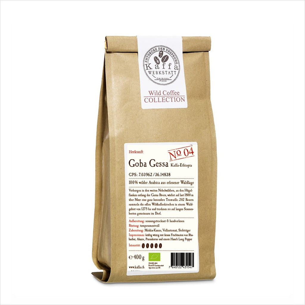WILD COFFEE COLLECTION GOBA GESSA BIO