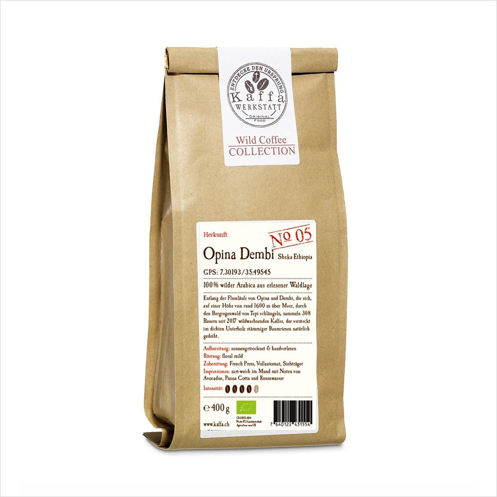 WILD COFFEE COLLECTION OPINA DEMBI BIO