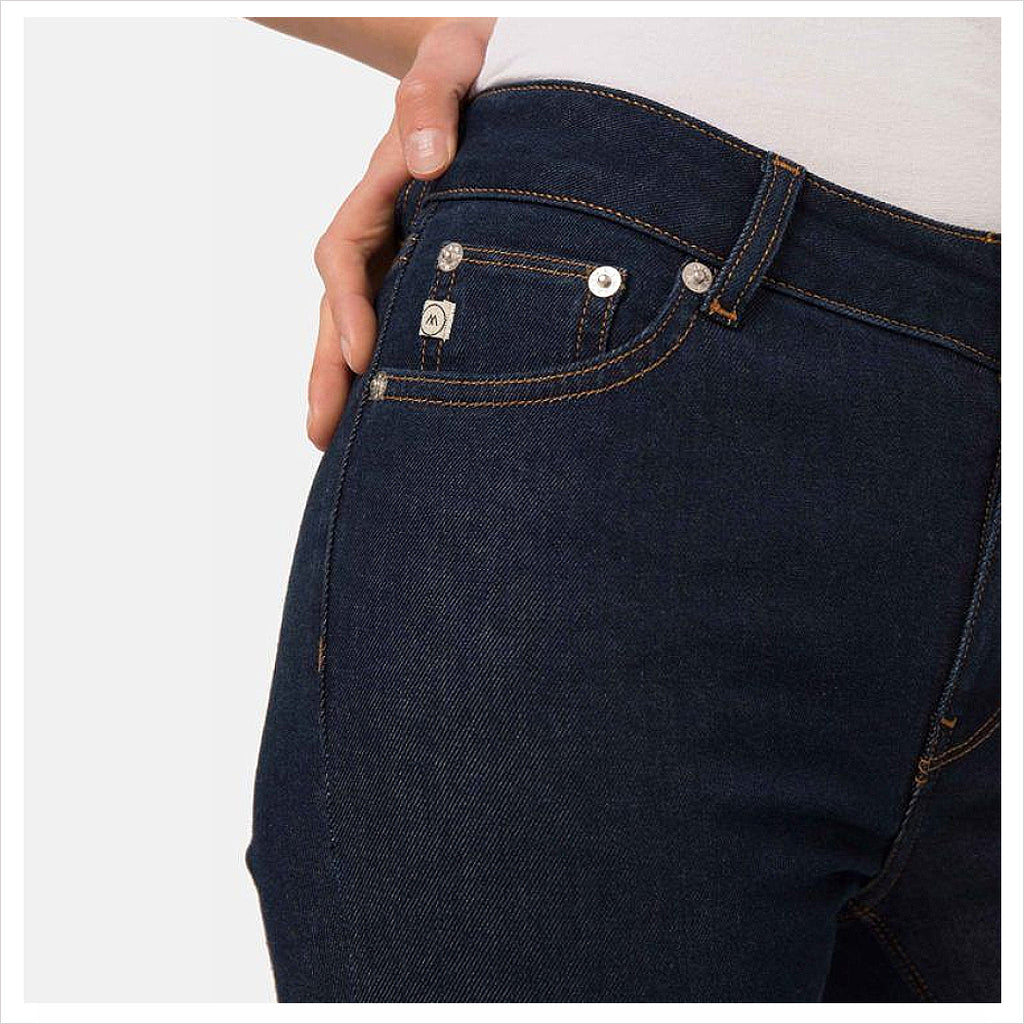 MUD JEANS - FLARED HAZEN - STRONG BLUE